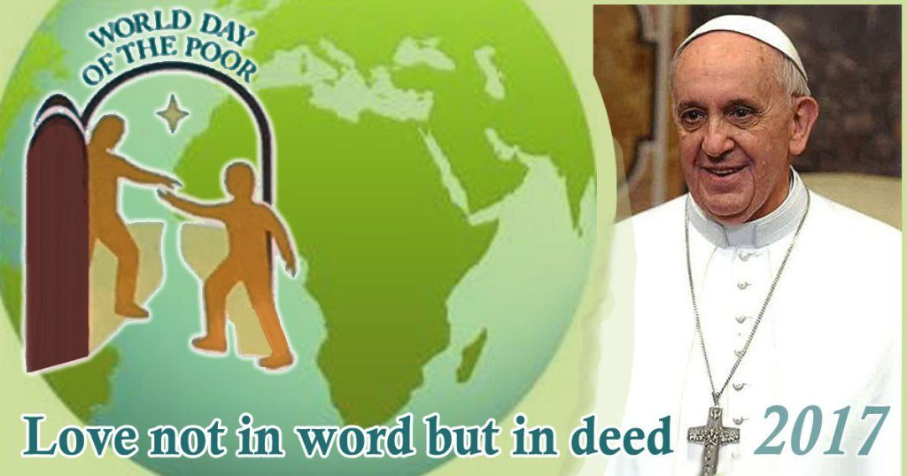 Pope Francis Issues Radical Challenge – Love not with words but deeds!