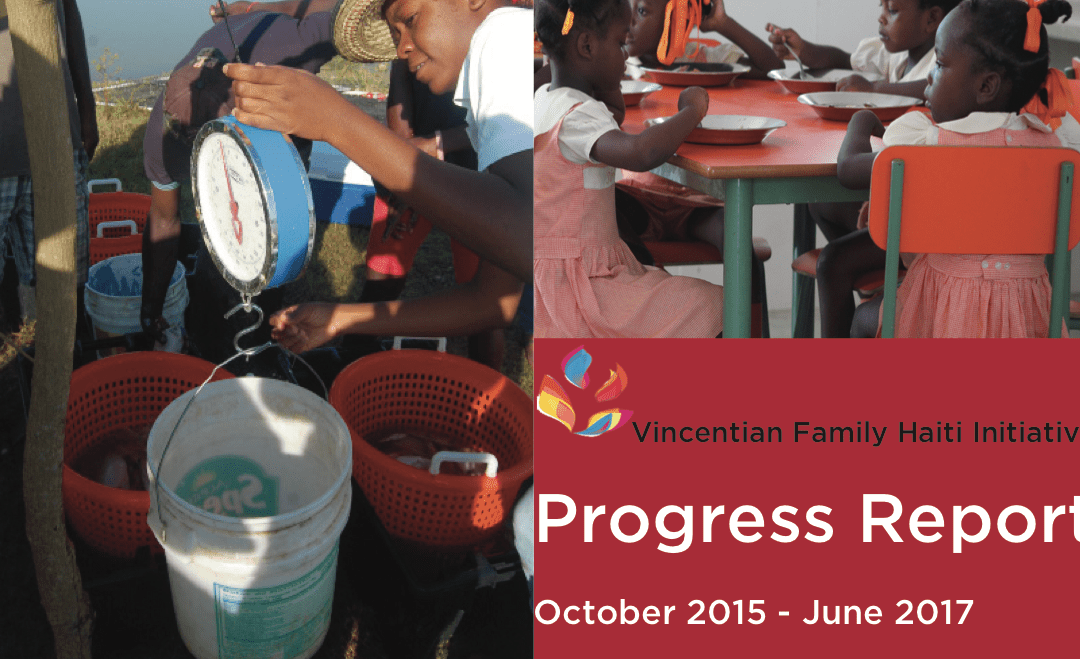 Vincentian Family Haiti Initiative Progress Report