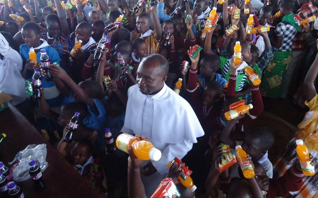 Chaplain of the Camp of Burundian Refugees at Mahama in Rwanda (Africa)