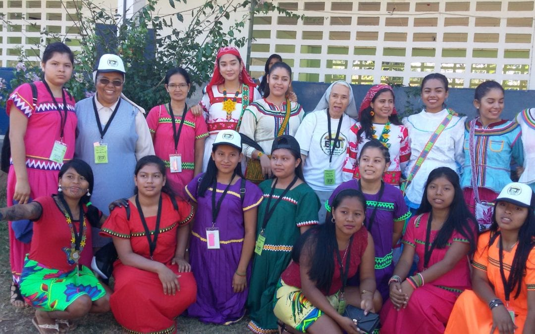 "The World Indigenous Youth Gathering. ""Remember the past in order to build the future courageously"""