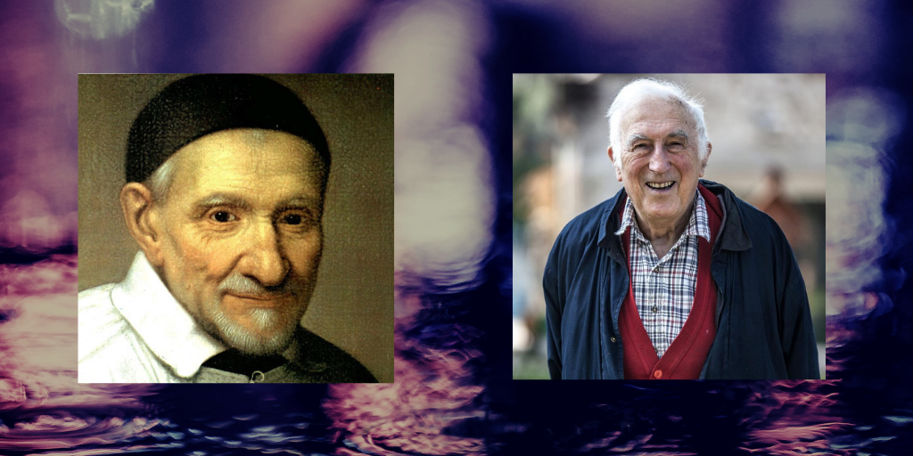 Two Giant Agents of Change – Jean Vanier and Vincent de Paul