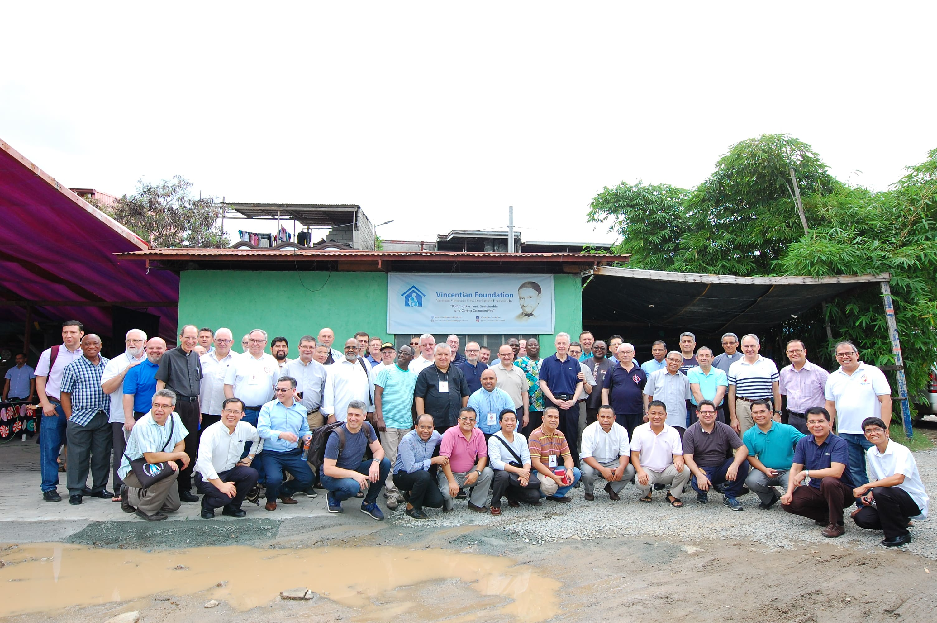 Group in Vincentian Missionaries Social Development Foundation, Incorporated