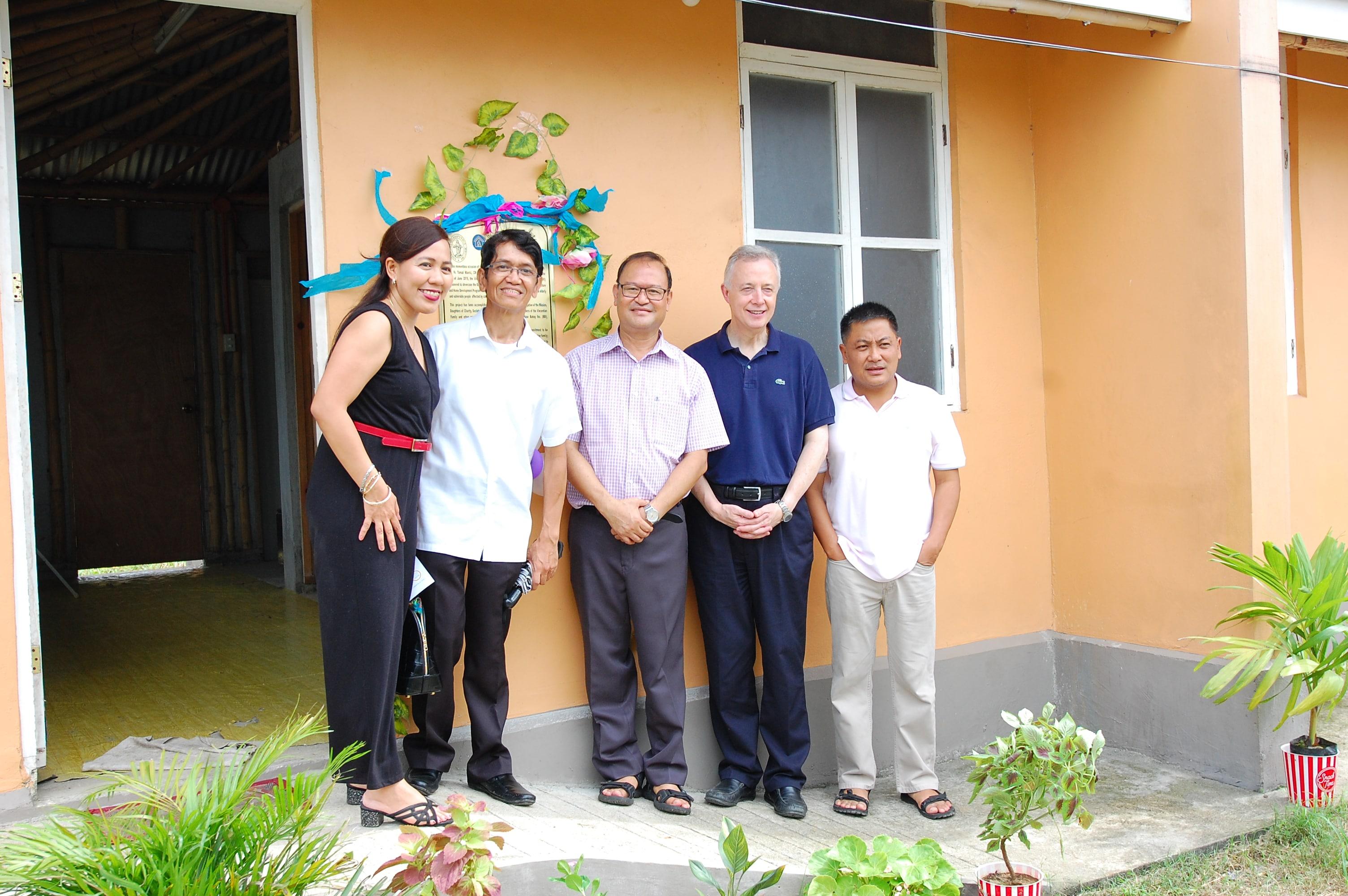 Fr. Mario Castillo, CM, Fr. Gregg, Fr. Tomaz, Fr. Gerald.