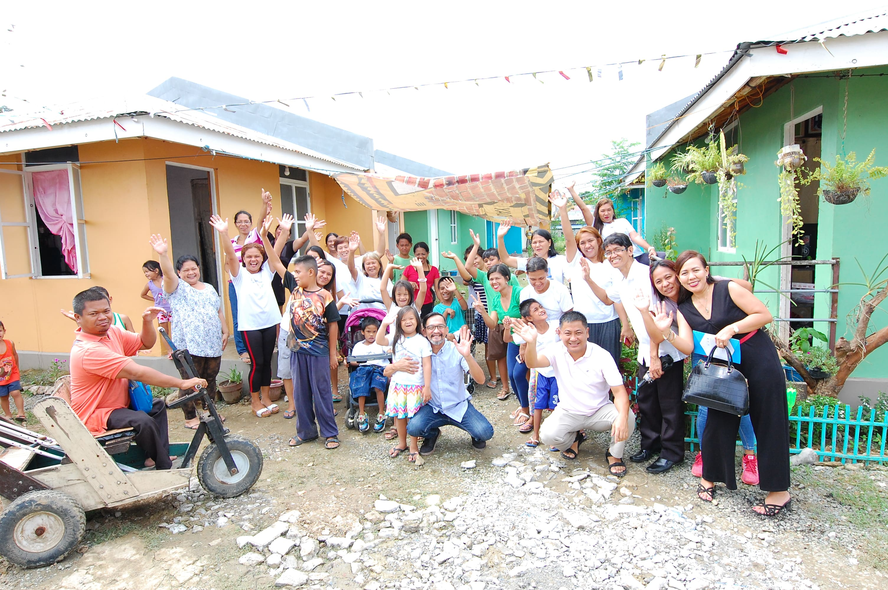 Residents of Vincentian Missionaries Social Development Foundation, Incorporated