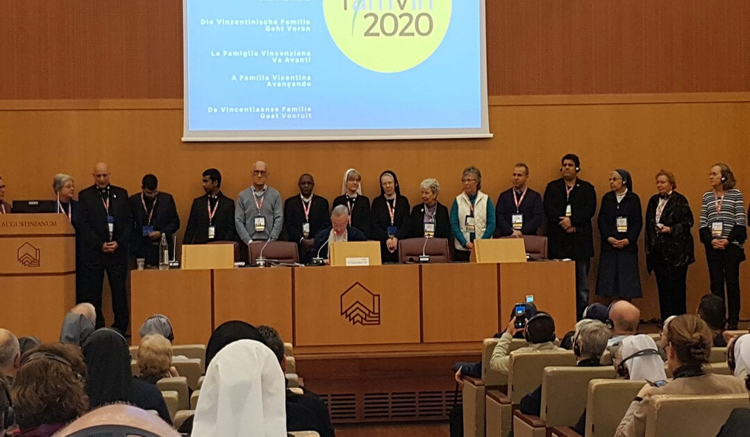 Meeting of the leaders of the Vincentian Family, Rome 2020. January 8th #FamVin2020Roma