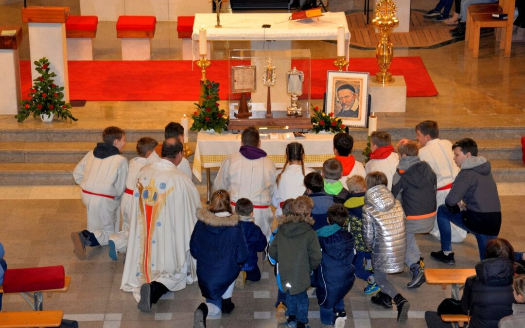 Pilgrimage of Saint Vincent's Relics in Slovenia, Serbia, and Northern Macedonia