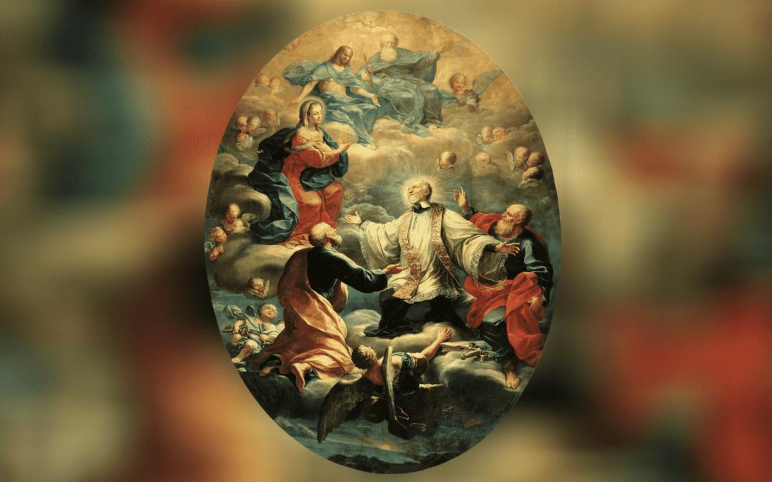 Saint Vincent and Marian Devotion
