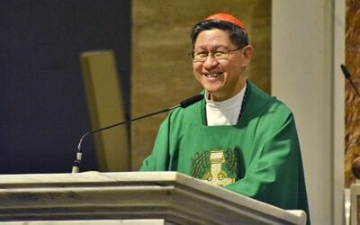 Visit of Cardinal Luis Antonio Tagle at the General Curia