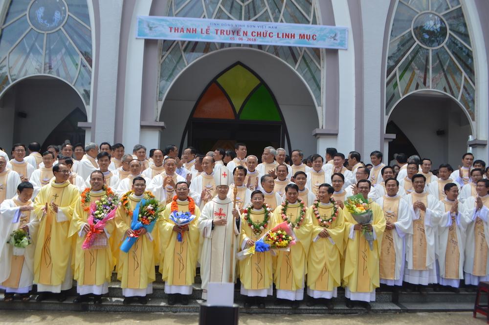Ordenaciones sacerdotales en la Provincia de Vietnam