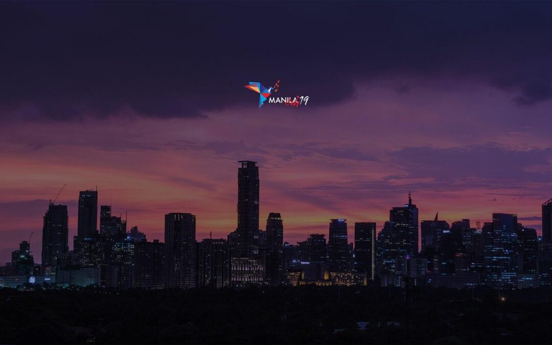 Presentación y explicación del logotipo del Encuentro de Visitadores en Manila, Filipinas, 2019
