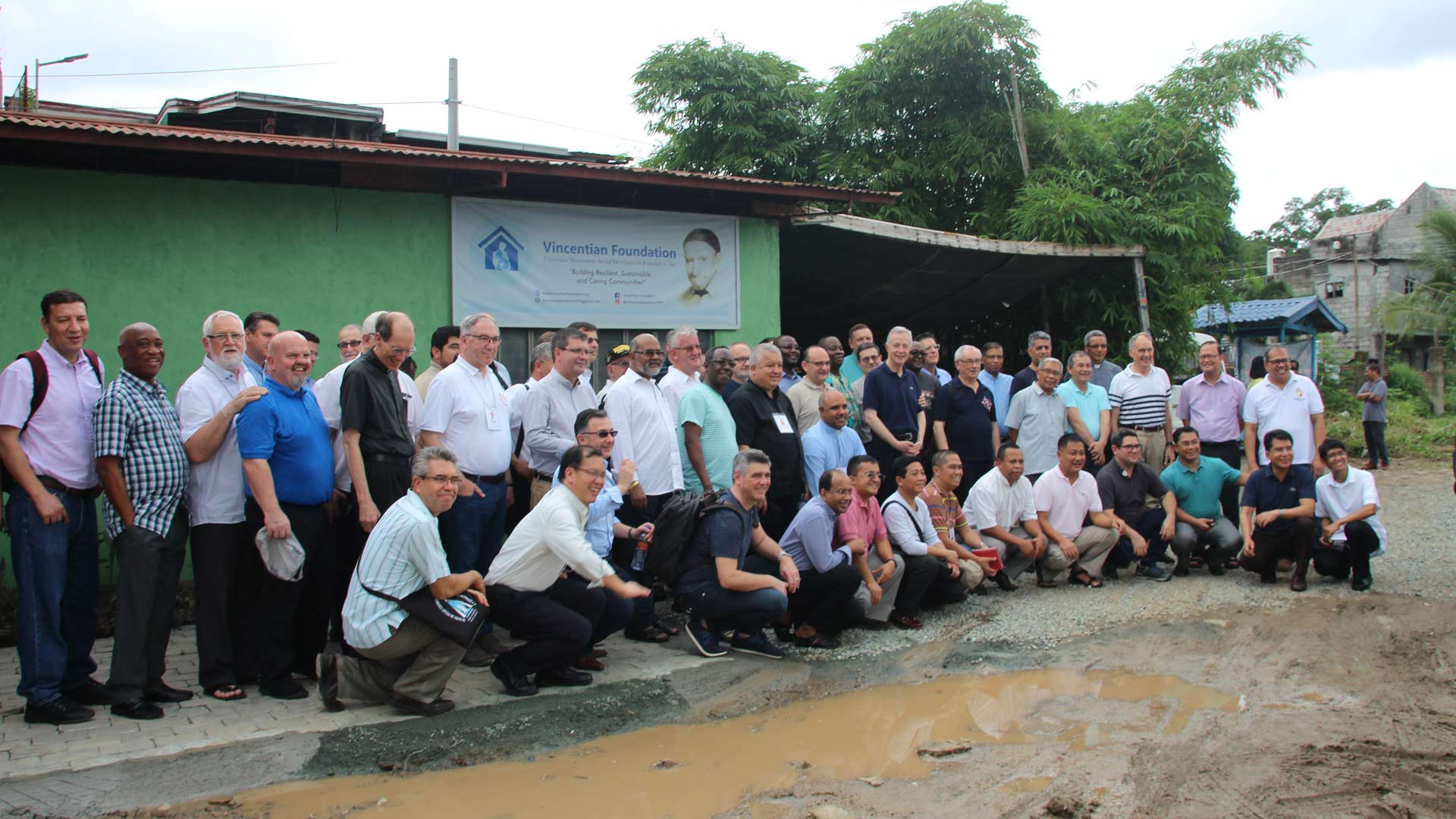 Visita  a la Vincentian Missionaries Social Development Foundation, Incorporated