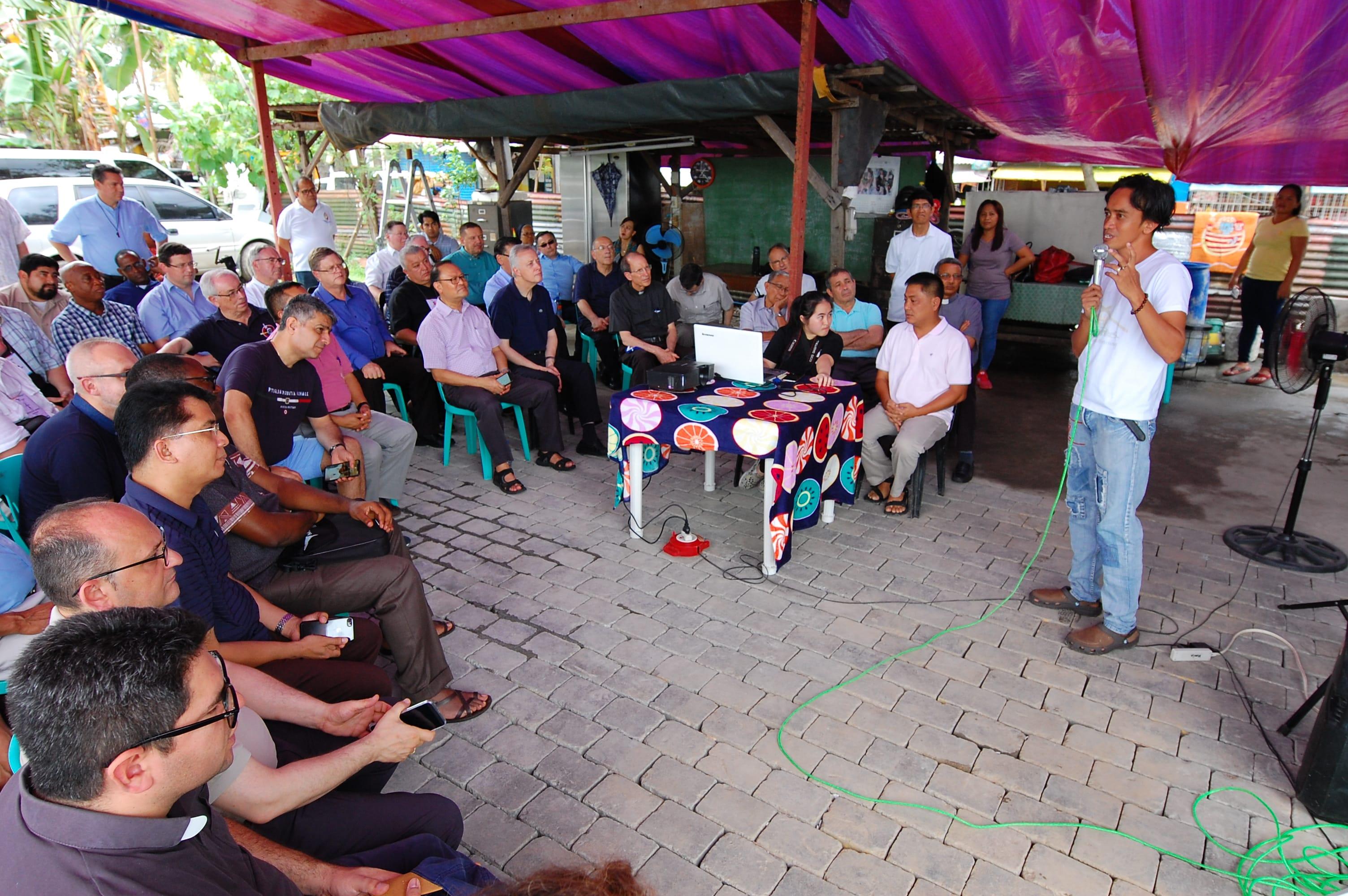 Visita  a la Vincentian Missionaries Social Development Foundation, Incorporated