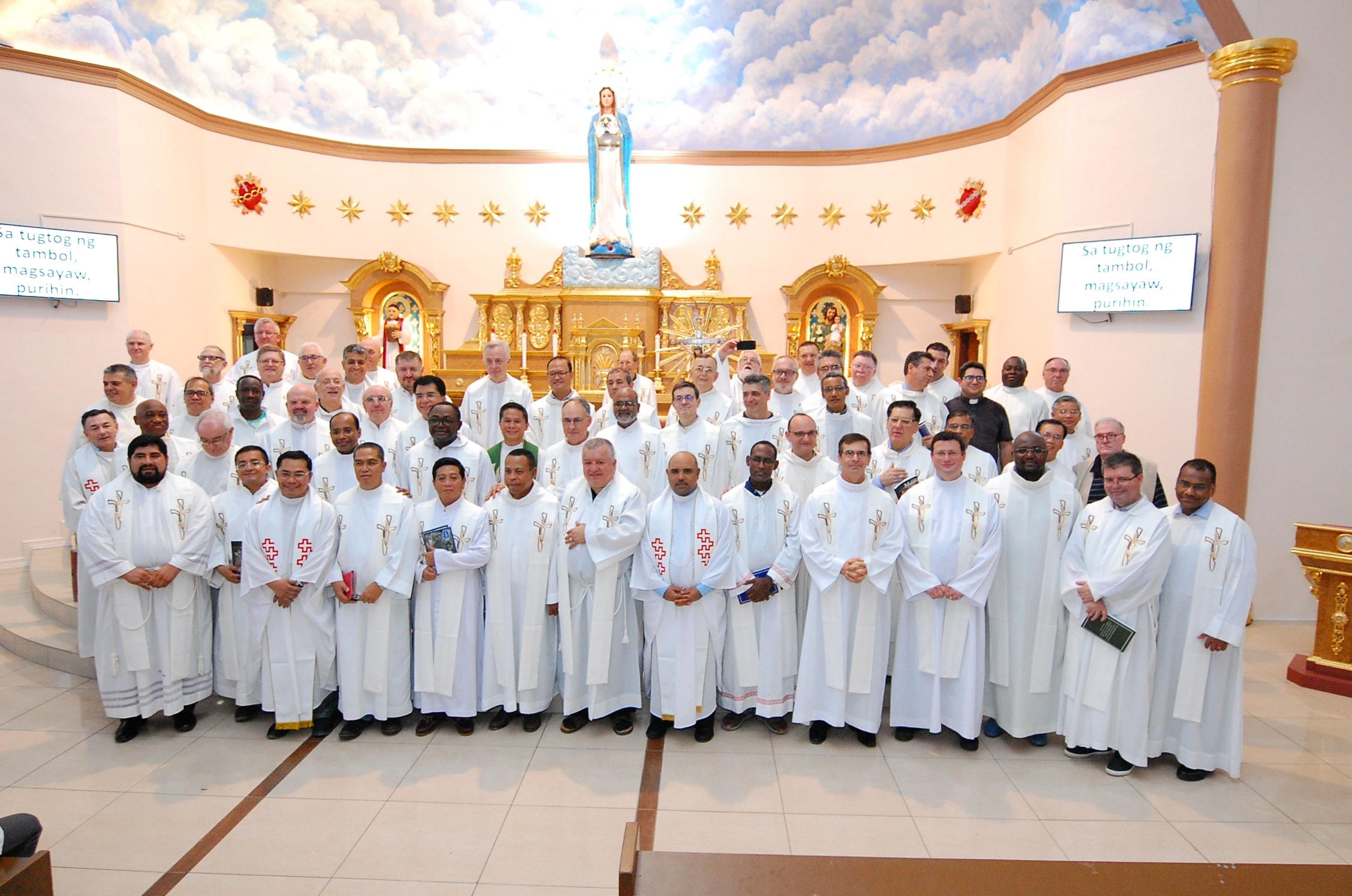 Visita a la Parroquia de Ina ng Lupang Pangako (Nuestra Señora de la Tierra Prometida)