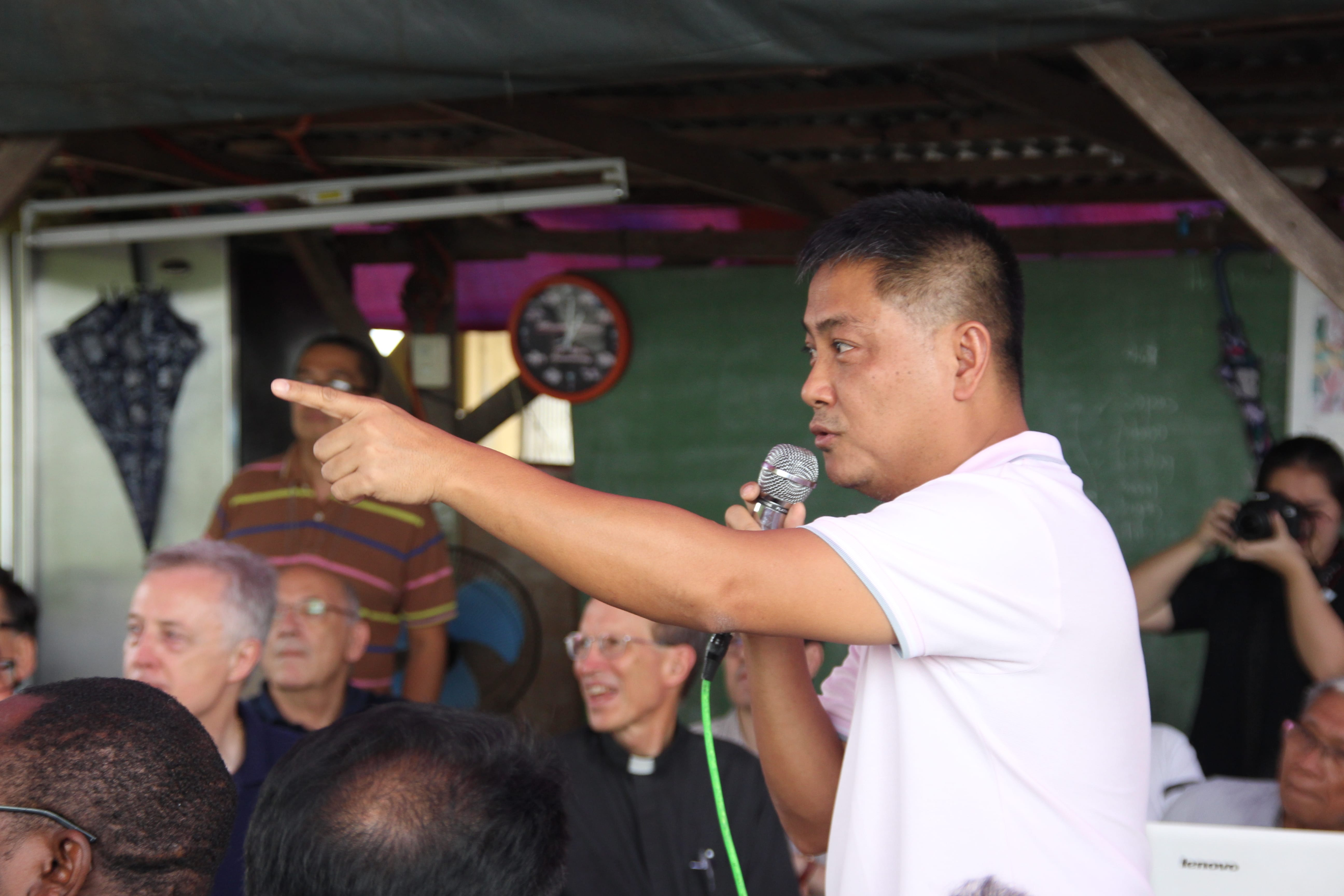 P. Gerald Borja, CM, Director of VMSDFI (Vincentian Missionaries Social Development Foundation, Incorporated)
