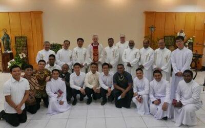 Un día histórico para la Conferencia de Visitadores de Asia y el Pacífico (APVC)