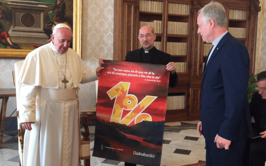 Promesa cumplida, carta al Papa Francisco