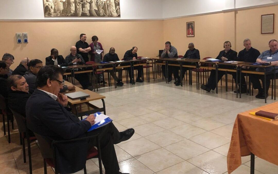 Crónica del Encuentro de Nuevos Visitadores.Del 19 Al 29 de Enero de 2020, en Roma
