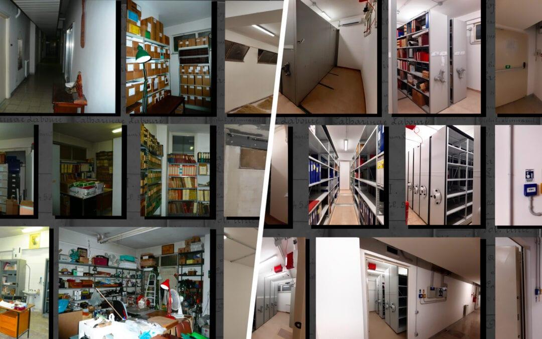 La Curia General ha renovado los Archivos