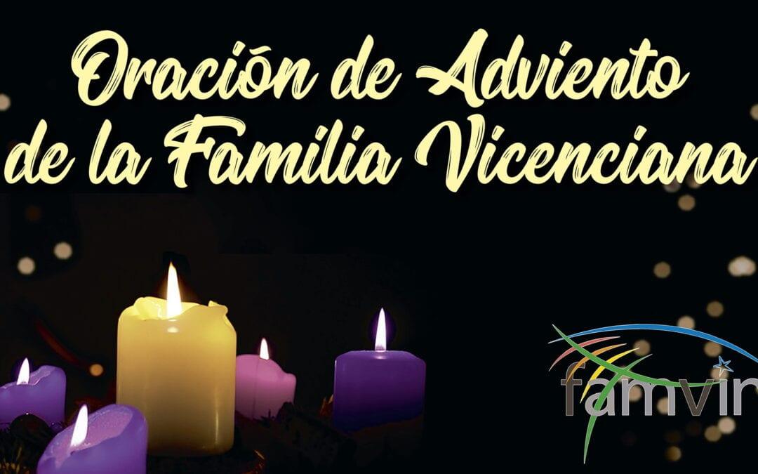 Oración de Adviento para la Familia Vicenciana, el 6 de diciembre