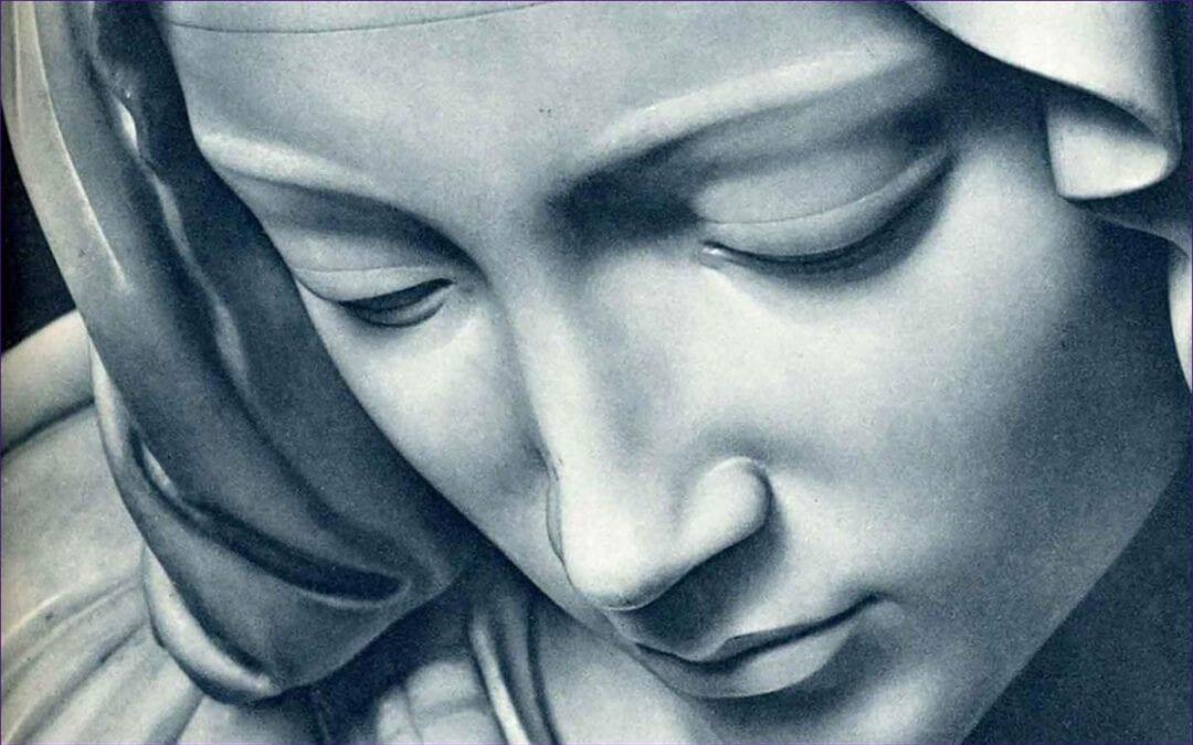 Los ojos misericordiosos de María