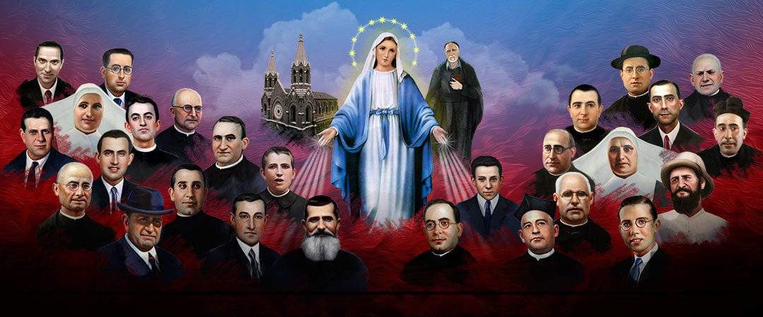 Beatification of 60 Vincentian Family Martyrs November 11