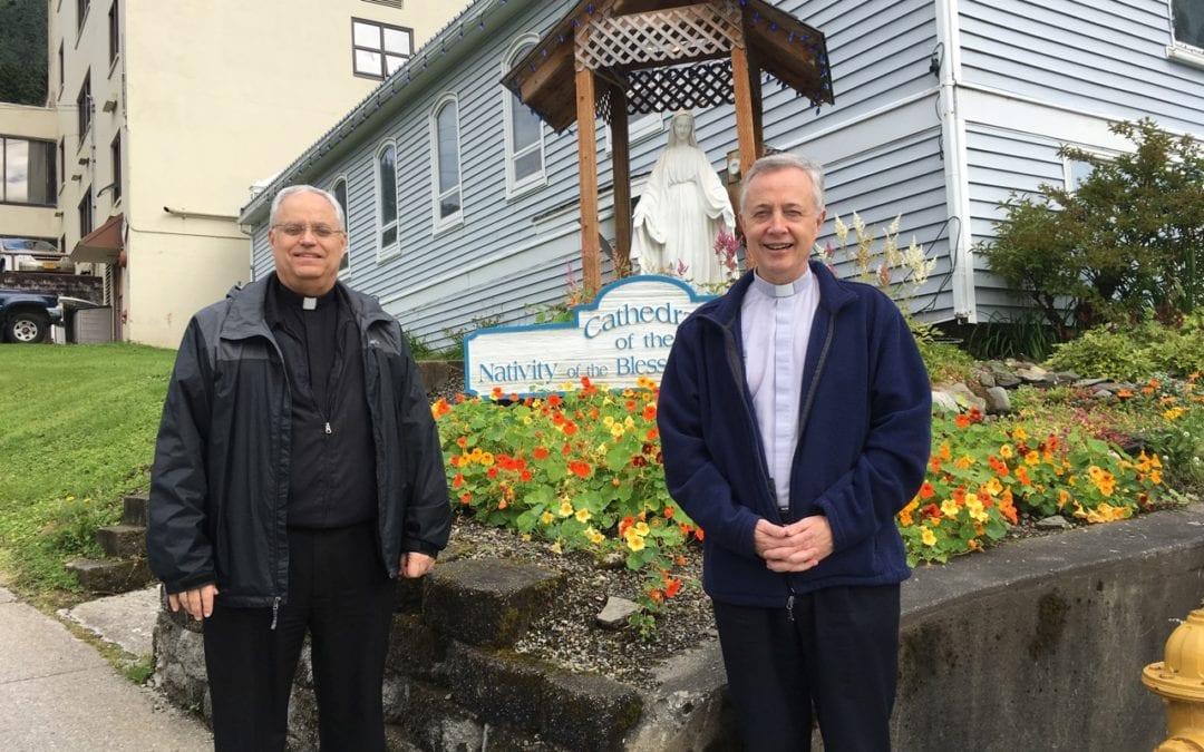Visite du Supérieur Général à Juneau – Alaska