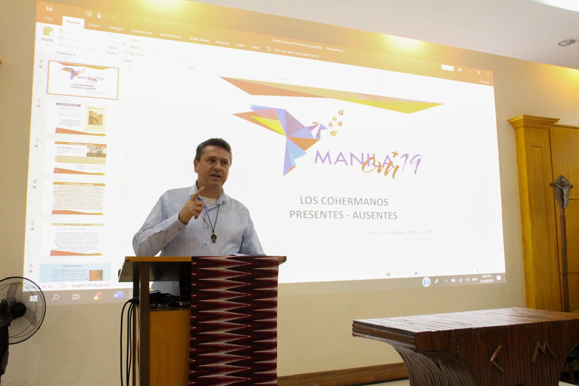 P Diego Luis Vasquez, CM - Province de la Colombie
