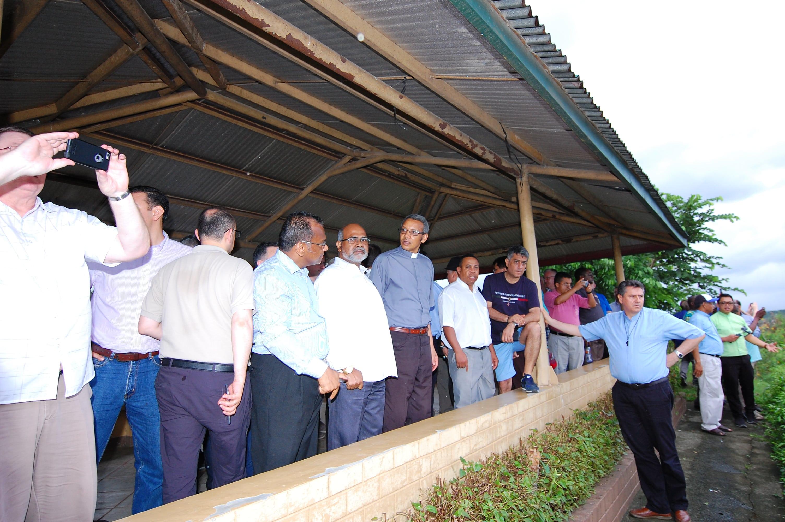 Visite à la Fondation Vincentienne des Missionnaires pour le Développement Social