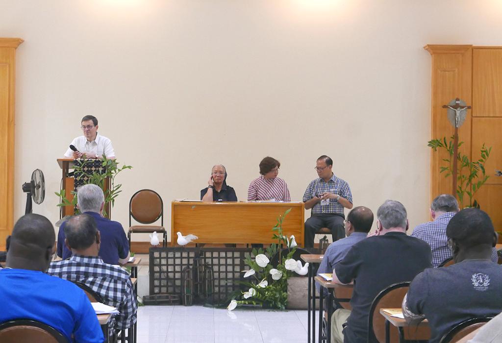 Fr. Giuseppe Turati, CM - Sr. Teresa Mueda, DC - Ms. Ana María Escaño, VMY - Fr. Gregorio Bañaga, CM