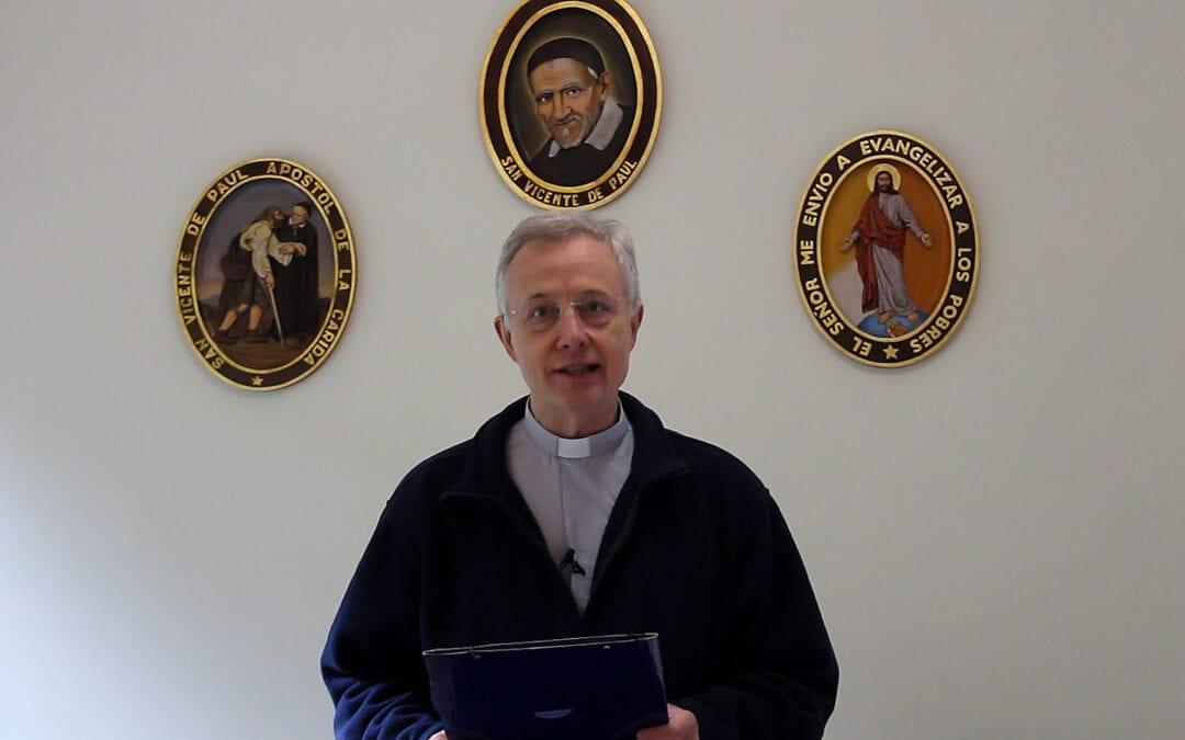 La lettre circulaire du Supérieur général à l'occasion de la fête de saint Vincent de Paul 2019