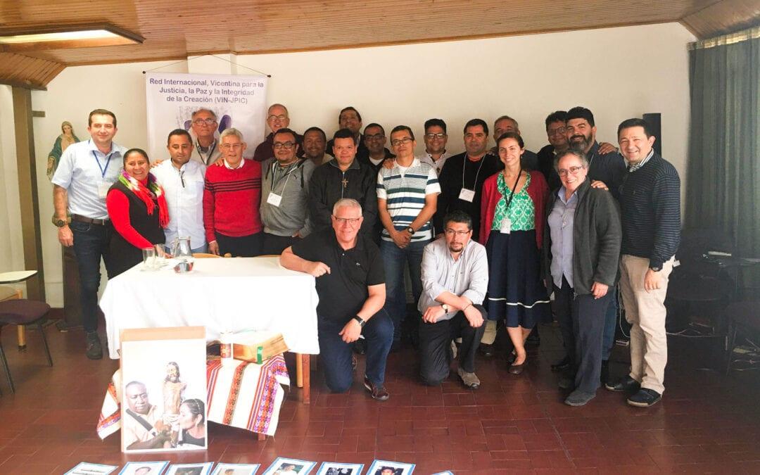 Réseau International Vincentien Pour la Justice, la Paix et la Sauvegarde de la Création.  Rencontre des Délégués Provinciaux des Amériques
