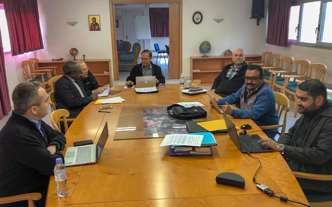 La Commission préparatoire de l'Assemblée Générale de 2022 a commencé ses travaux