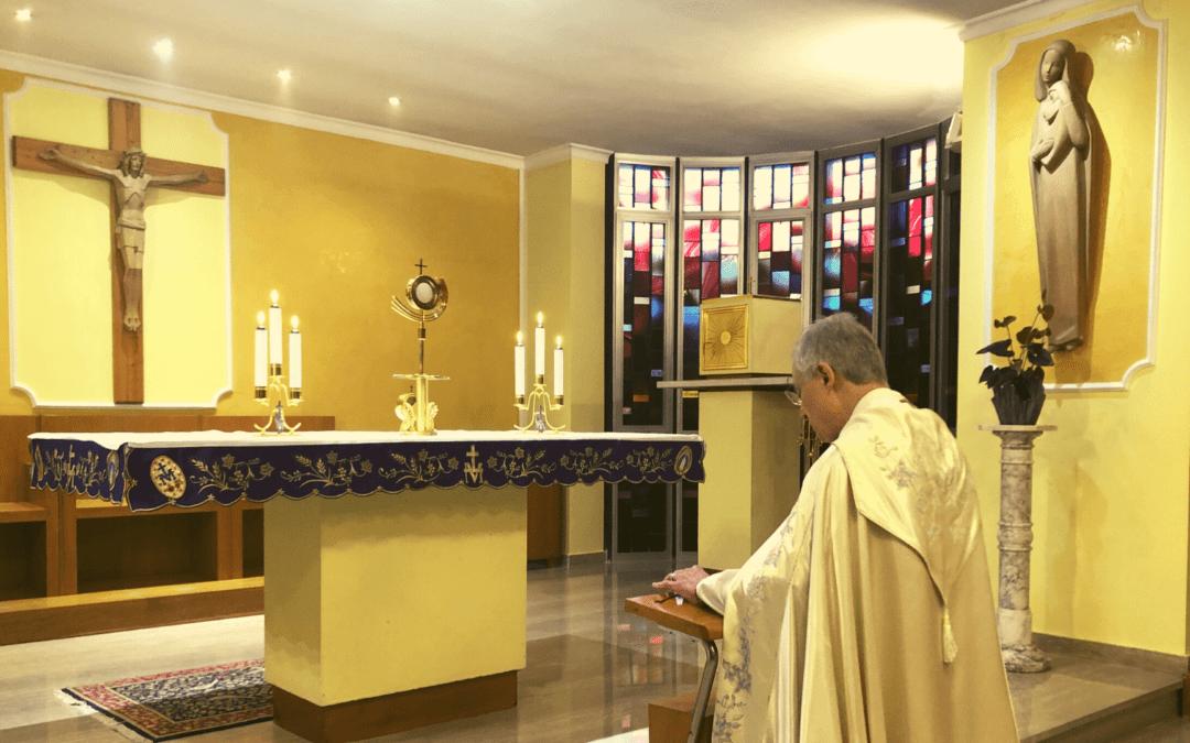 Réunion de prière de la Famille vincentienne sur Facebook, samedi 28 mars