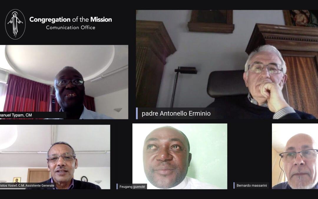 En dialogue entre les Provinces : Le Covid 19 dans les Provinces d'Italie, de France et la Vice- Province du Cameroun