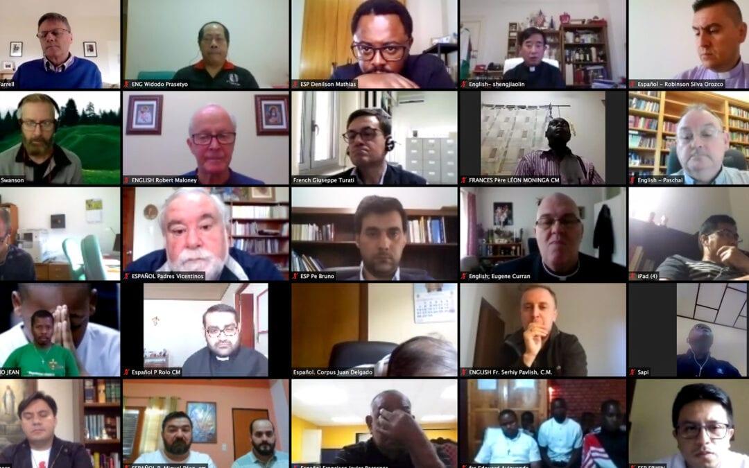 I Réunion virtuelle de la pastorale de la Vocation