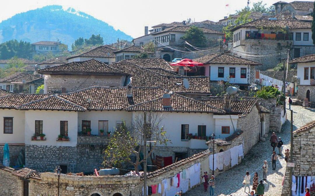 La région de l'Albanie – Province d'Italie