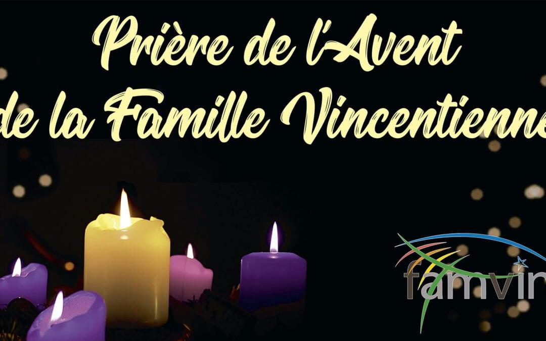 Prière de l'Avent de la Famille Vincentienne, 6 décembre