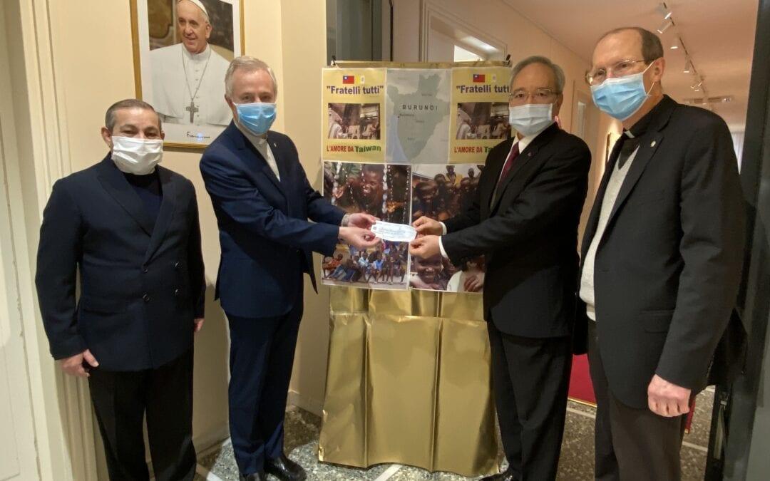 Fratelli Tutti: Taiwan aide à nouveau la Congrégation de la Mission.