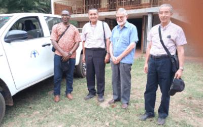 LA CONGREGATION DE LA MISSION EST PRESENTE A LA PAROISSE DE BOGANANGONE, DIOCESE DE M'BAÏKI, REPUBLIQUE CENTRAFRICAINE