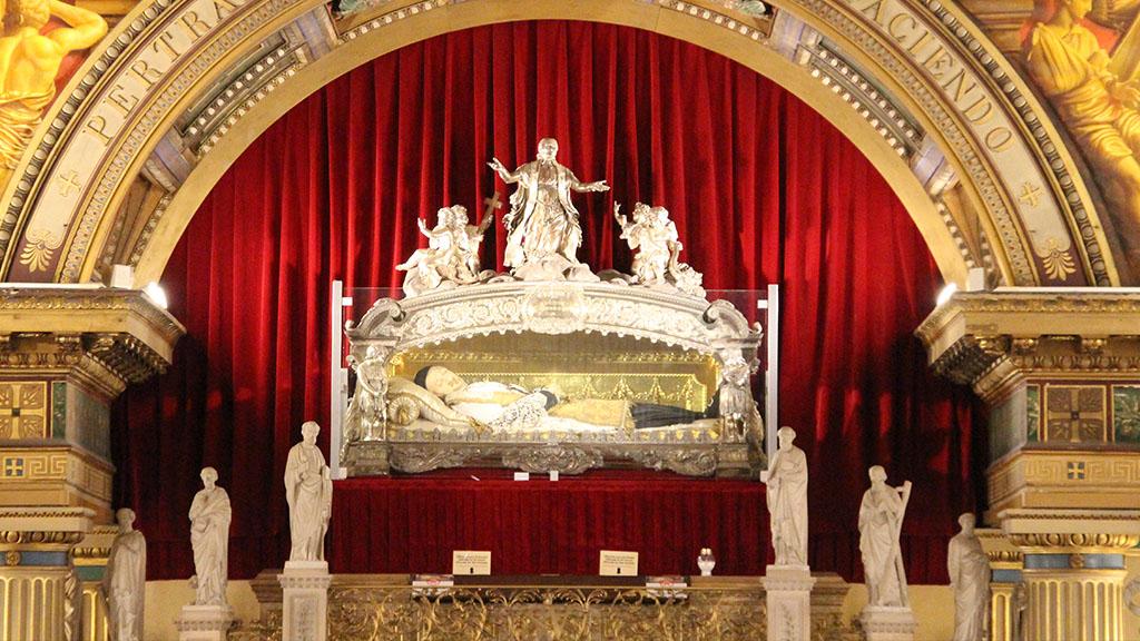 Traslazione delle Reliquie di S. Vincenzo de' Paoli