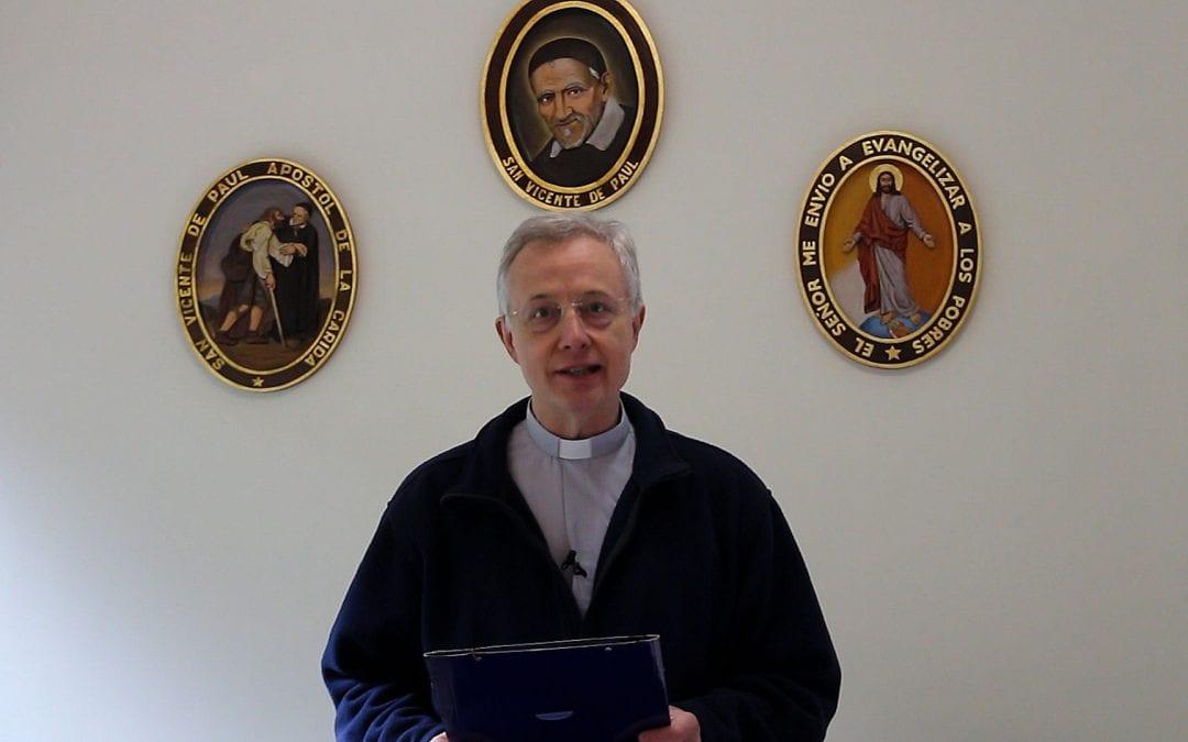 Messaggio di Pasqua 2019 del Superiore Generale della Congregazione della Missione, p. Tomaž Mavrič, C.M.