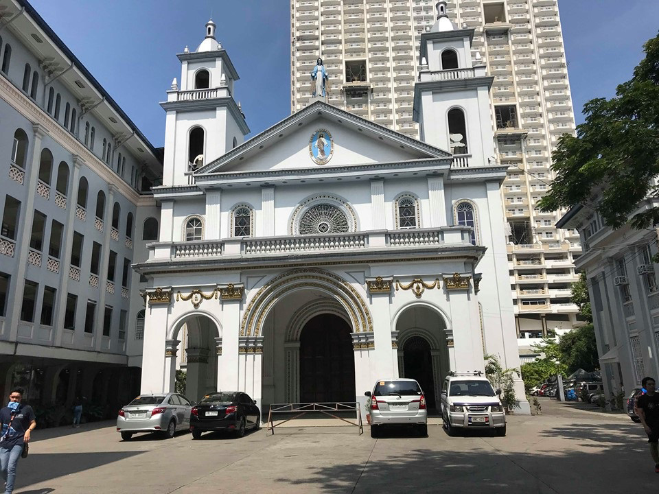 Central House & St. Vincent de Paul Parish Church, San Marcelino St., Metro Manila