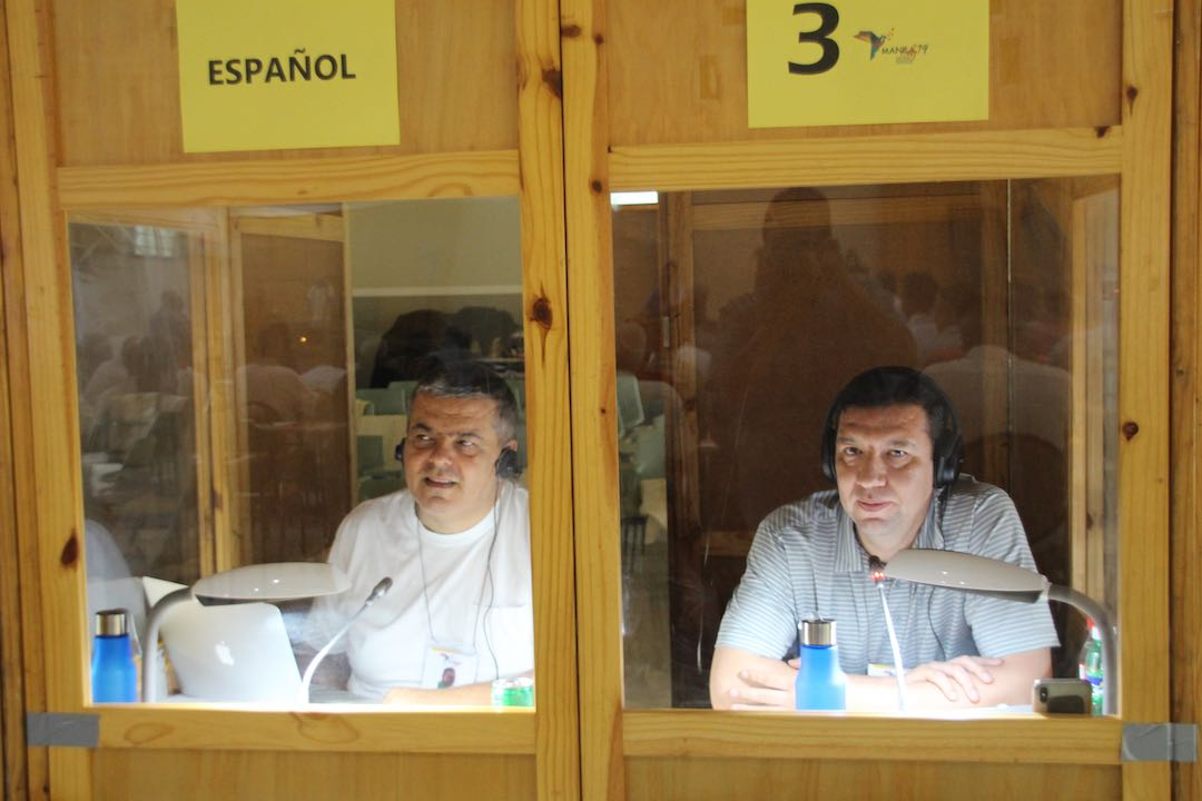 Abdo Eid, CM - Antonio Escobedo Hernández, CM - Translators