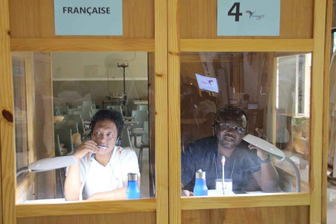 Sedy Rabarijaona, CM - Patrick Issomo Mama, CM - Translators