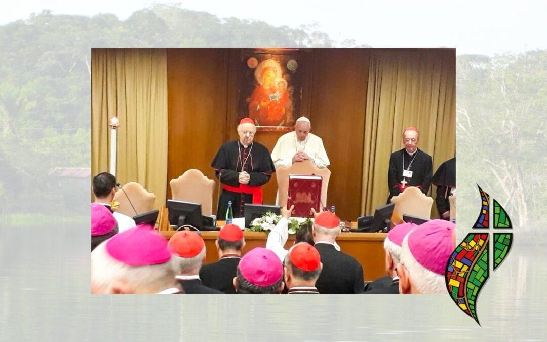 Presenza della Congregazione della Missione al Sinodo dei Vescovi per il Pane dell'Amazzonia