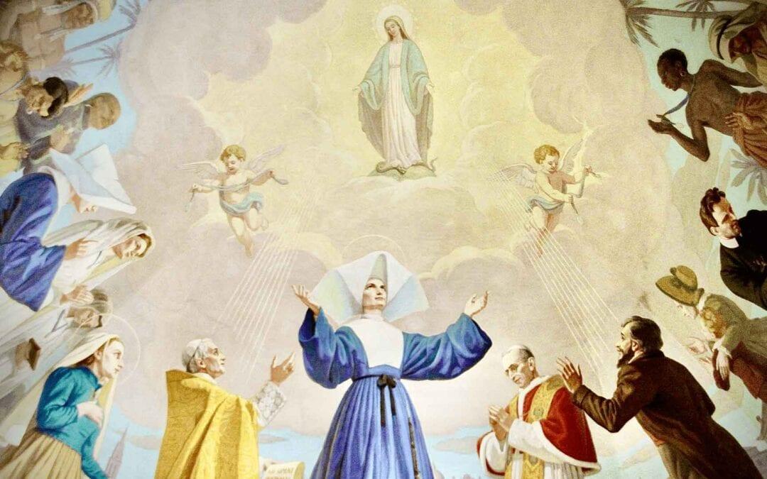 Catherine Labouré, la Santa del silenzio