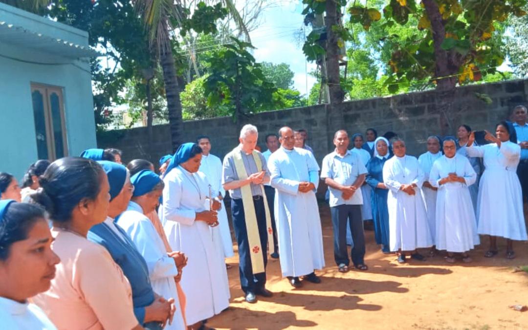 Visita del Superiore Generale alle Figlie della Carità della Provincia India Sud