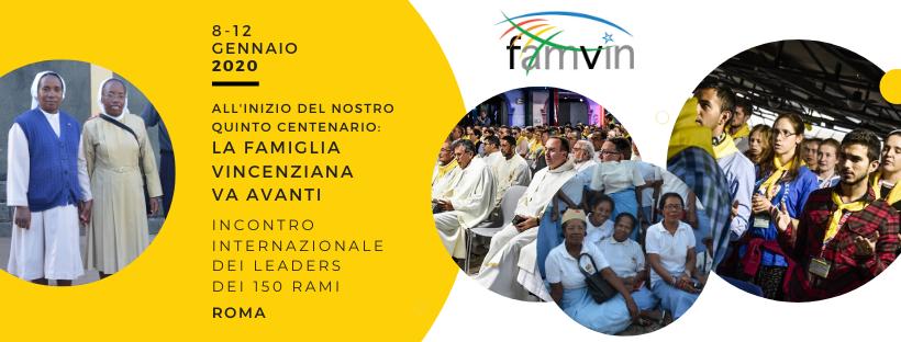 Primo Incontro Mondiale della Famiglia Vincenziana