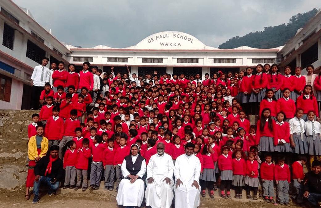 Un secondo piano per la scuola missionaria di Wakka – Provincia dell'India Nord