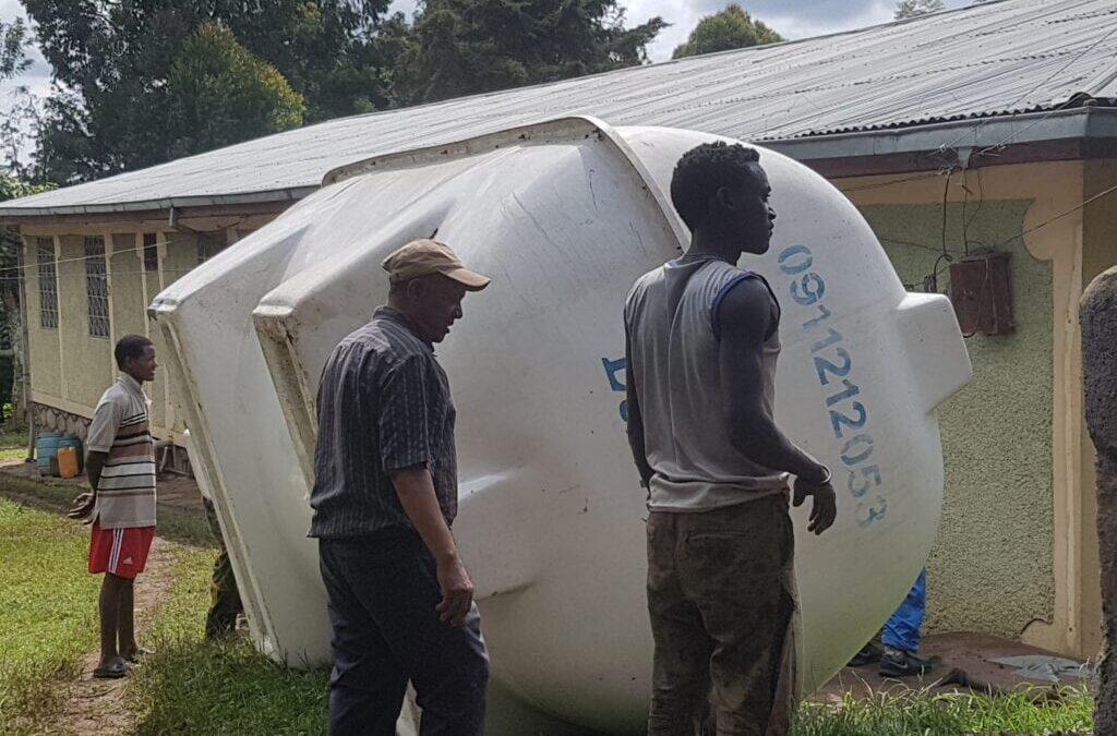 Drill Well at Parish Complex at Shishinda, Ethiopia